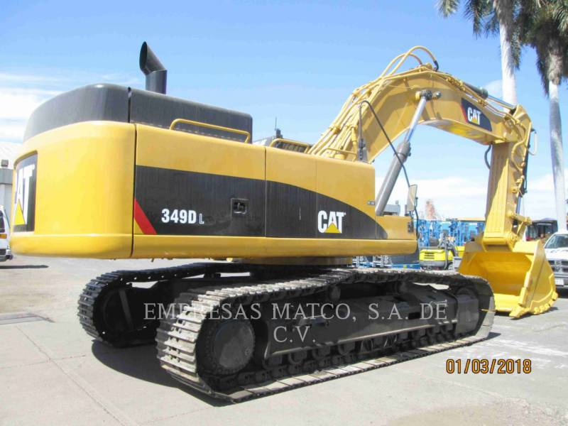 CATERPILLAR EXCAVADORAS DE CADENAS 349DL equipment  photo 5