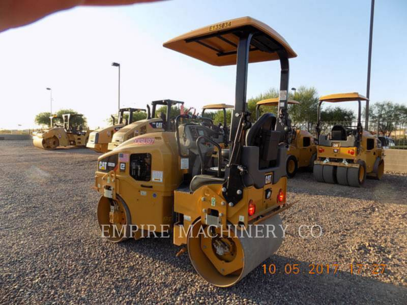CATERPILLAR COMPACTEURS TANDEMS VIBRANTS CB22B equipment  photo 3