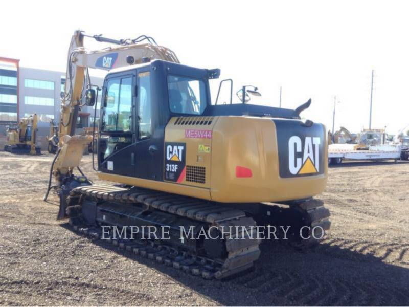 CATERPILLAR PELLES SUR CHAINES 313FL GC P equipment  photo 3
