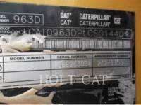 CATERPILLAR CARGADORES DE CADENAS 963D WHA equipment  photo 5