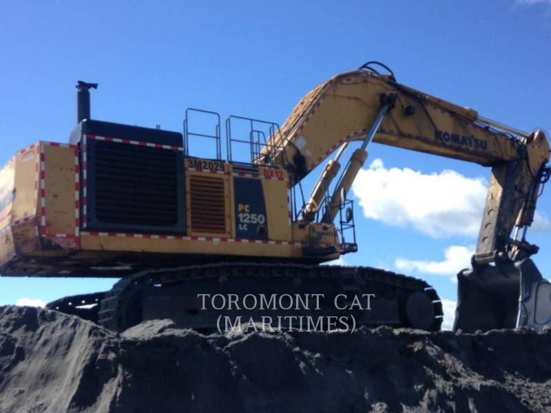 KOMATSU TRACK EXCAVATORS PC1250 LC equipment  photo 3