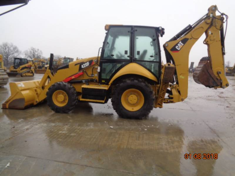 CATERPILLAR バックホーローダ 420FST equipment  photo 10