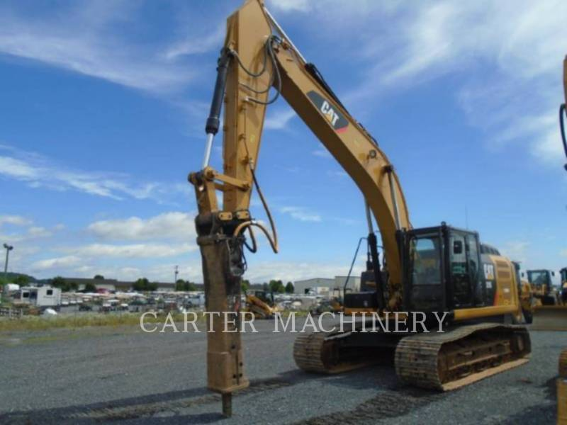 CATERPILLAR TRACK EXCAVATORS 329EL CF equipment  photo 1
