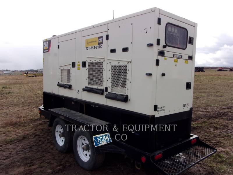 CATERPILLAR MOBILE GENERATOR SETS XQ 175 equipment  photo 1