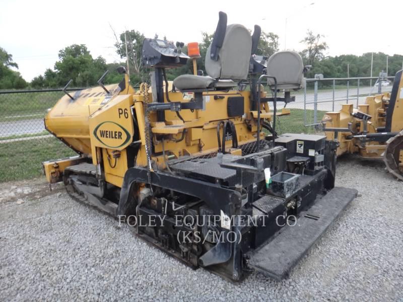 WEILER ASPHALT PAVERS P385 equipment  photo 3