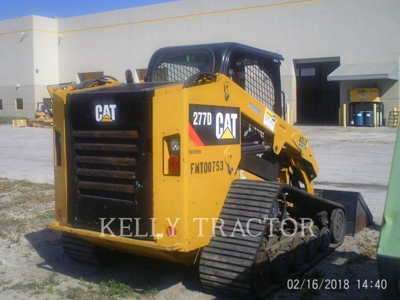 CATERPILLAR PALE CINGOLATE MULTI TERRAIN 277D equipment  photo 2