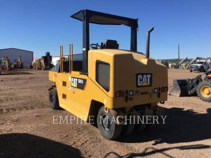 CATERPILLAR PNEUMATIC TIRED COMPACTORS CW14 equipment  photo 2