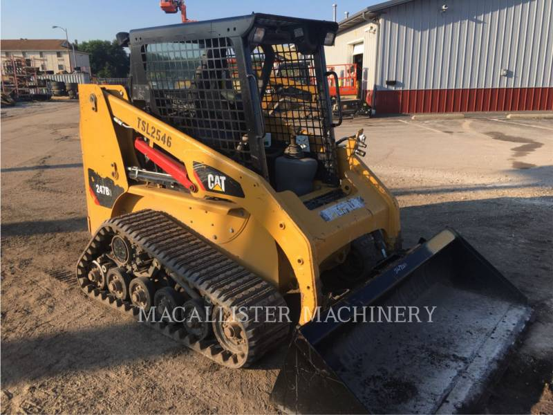 CATERPILLAR CARGADORES MULTITERRENO 247B3 equipment  photo 1