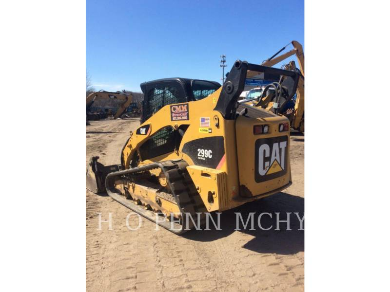 CATERPILLAR CARGADORES MULTITERRENO 299C equipment  photo 3
