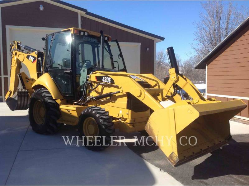 CATERPILLAR RETROESCAVADEIRAS 420E E equipment  photo 1
