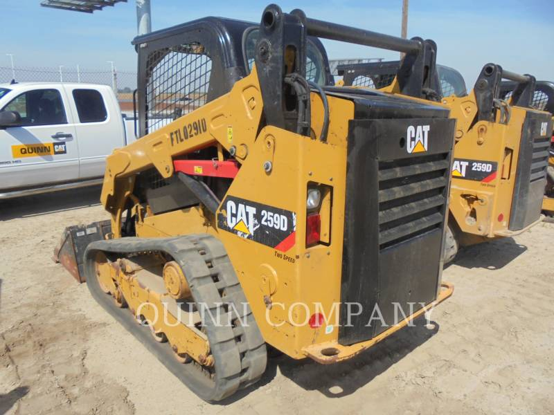 CATERPILLAR SKID STEER LOADERS 259D equipment  photo 6