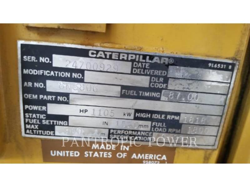 Caterpillar SETURI GENERATOARE STAŢIONARE 3512 equipment  photo 4