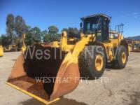 Equipment photo Caterpillar 972K ÎNCĂRCĂTOARE PE ROŢI/PORTSCULE INTEGRATE 1