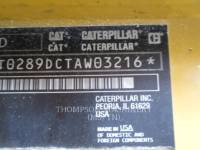 CATERPILLAR MINICARREGADEIRAS 289DHF equipment  photo 1