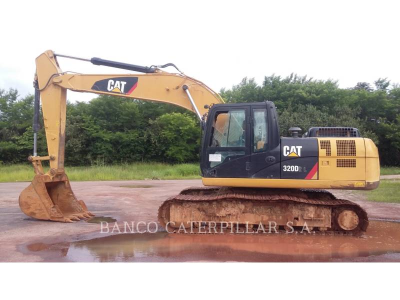 CATERPILLAR TRACK EXCAVATORS 320D2L equipment  photo 8