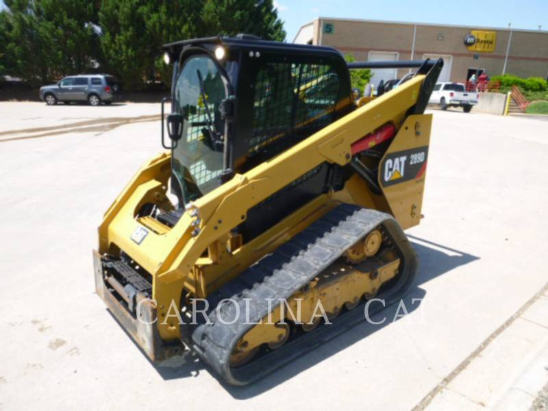 CATERPILLAR CARGADORES DE CADENAS 289D CB equipment  photo 4