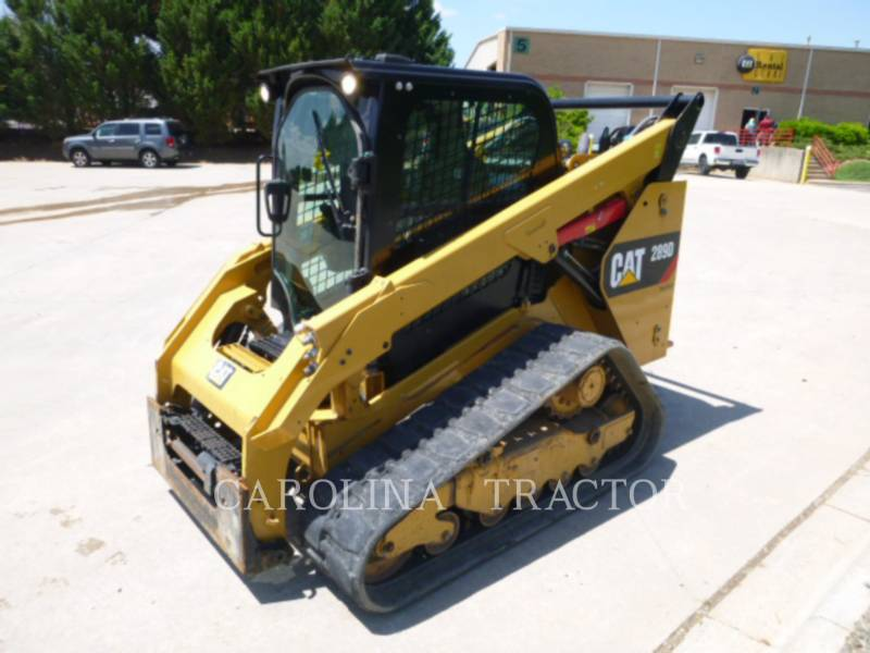CATERPILLAR TRACK LOADERS 289D CB equipment  photo 4