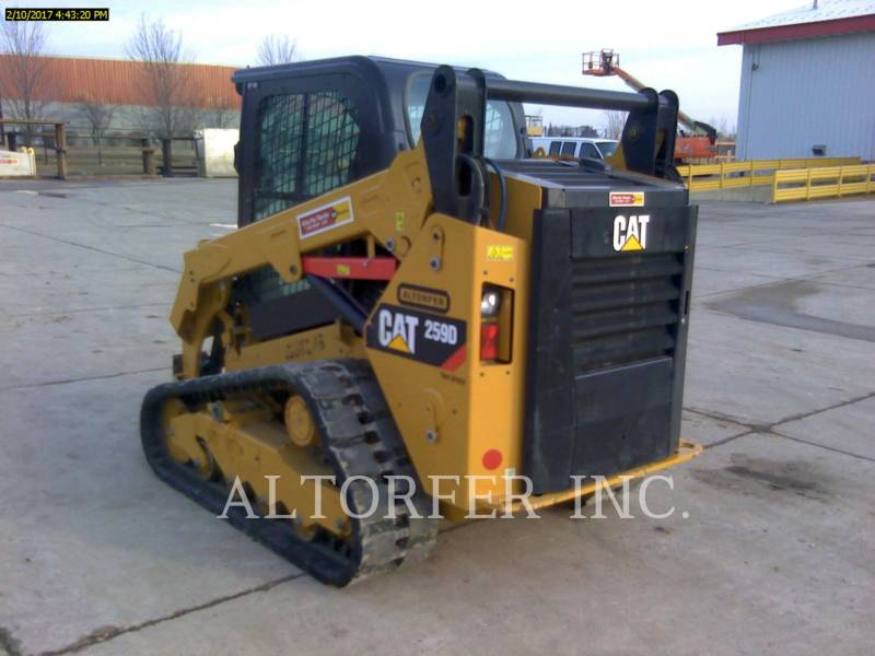 CATERPILLAR PALE CINGOLATE MULTI TERRAIN 259D equipment  photo 3