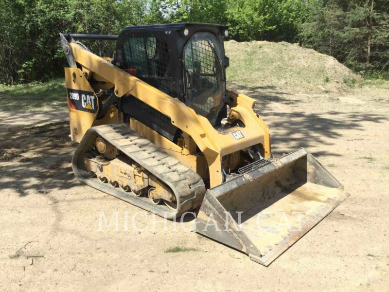 CATERPILLAR CARGADORES MULTITERRENO 289D A2Q equipment  photo 1
