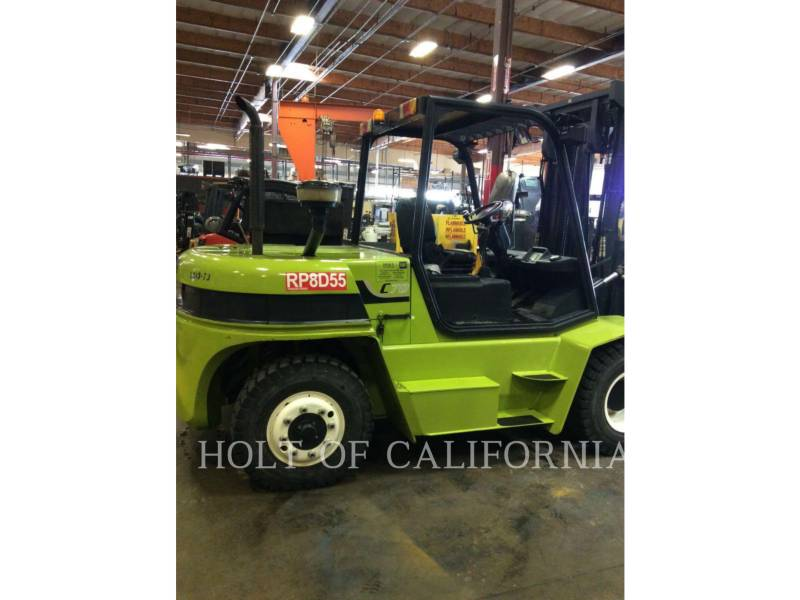 CLARK FORKLIFTS C70D equipment  photo 1