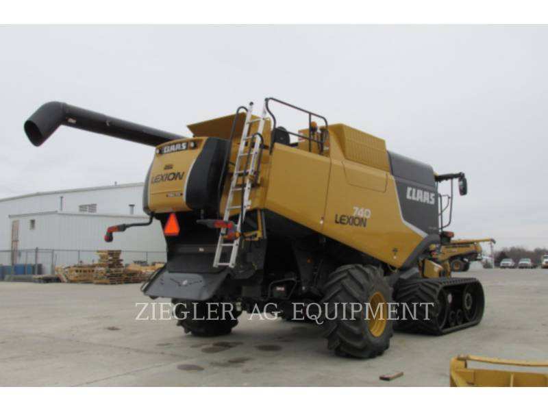LEXION COMBINE COMBINES 740TT equipment  photo 16
