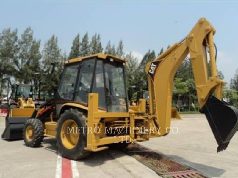CATERPILLAR BACKHOE LOADERS 428C equipment  photo 6