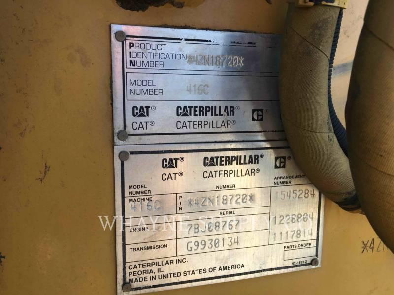 CATERPILLAR BACKHOE LOADERS 416C equipment  photo 1