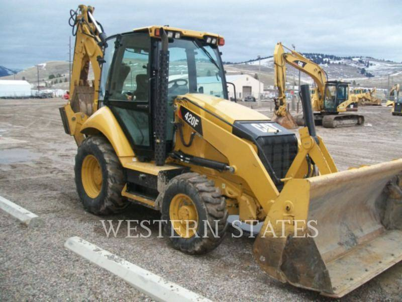CATERPILLAR CHARGEUSES-PELLETEUSES 420F equipment  photo 2