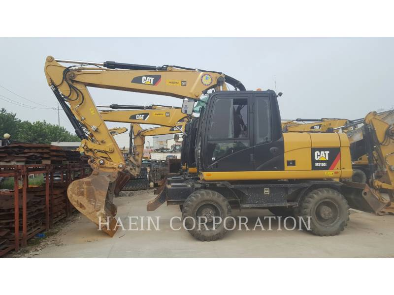 CATERPILLAR PELLES SUR PNEUS M315D2 equipment  photo 1