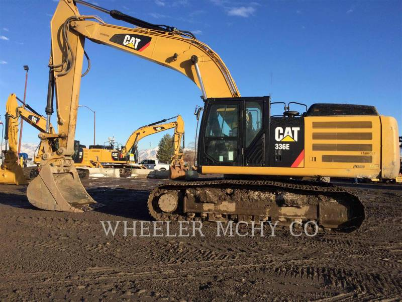 CATERPILLAR KETTEN-HYDRAULIKBAGGER 336E LH CF equipment  photo 2