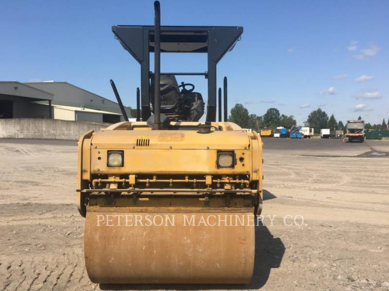 CATERPILLAR TANDEMOWY WALEC WIBRACYJNY DO ASFALTU (STAL-STAL) CB-434D equipment  photo 3