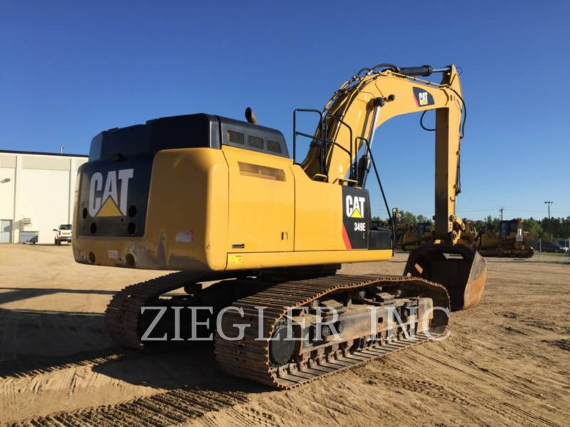 CATERPILLAR TRACK EXCAVATORS 349EVG equipment  photo 2