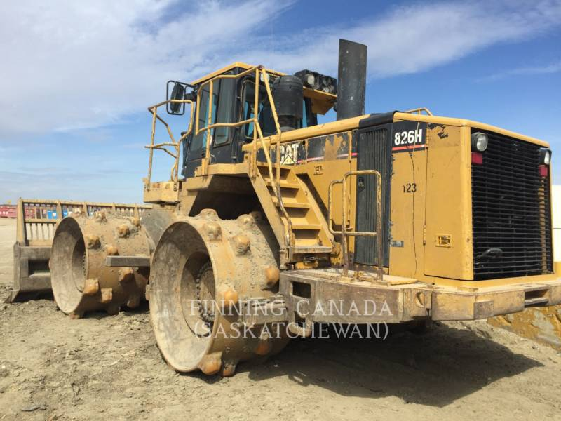 CATERPILLAR COMPACTADORES 826H equipment  photo 2