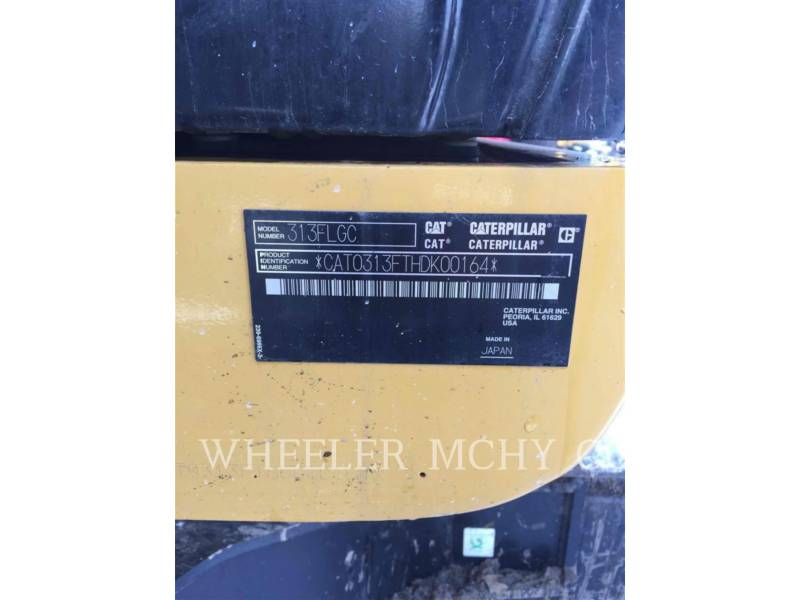 CATERPILLAR TRACK EXCAVATORS 313F GC TH equipment  photo 6