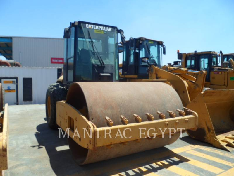 CATERPILLAR COMPACTEUR VIBRANT, MONOCYLINDRE LISSE CS-563E equipment  photo 3