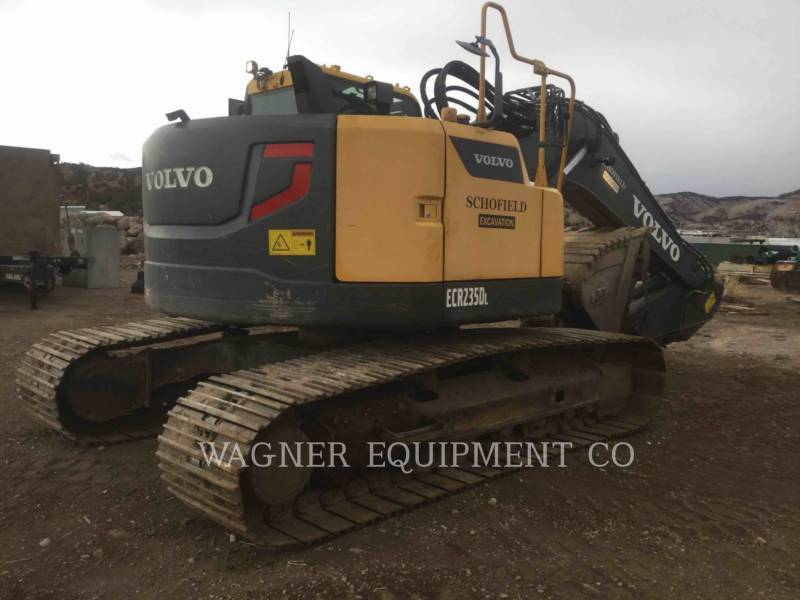 VOLVO CONSTRUCTION EQUIPMENT KETTEN-HYDRAULIKBAGGER ECR 235DL equipment  photo 3