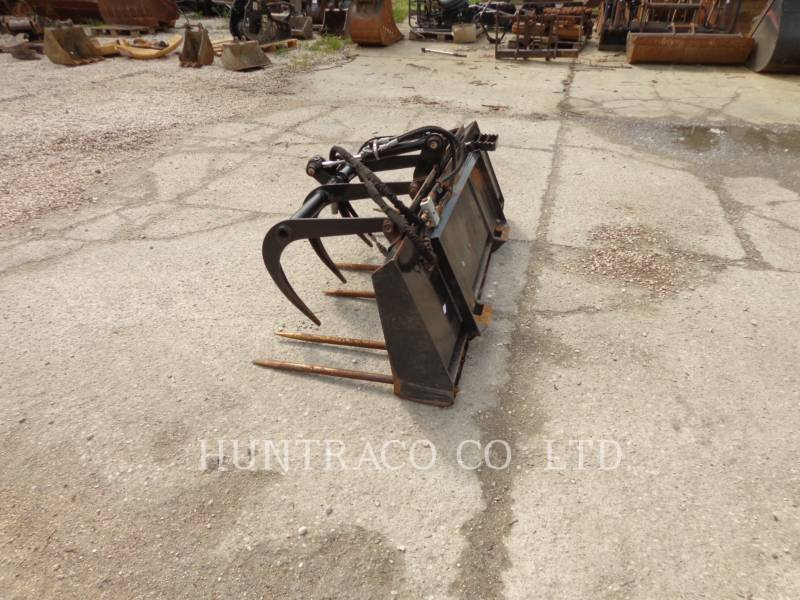 CATERPILLAR HERRAMIENTA: CUCHARÓN SSL MANURE FORKS equipment  photo 1