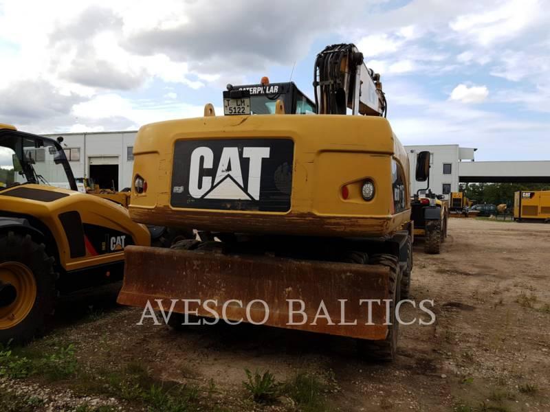 CATERPILLAR EXCAVADORAS DE RUEDAS M318D equipment  photo 2