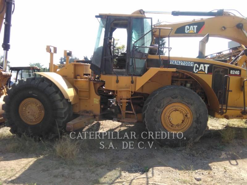 CATERPILLAR WHEEL DOZERS 824G equipment  photo 1