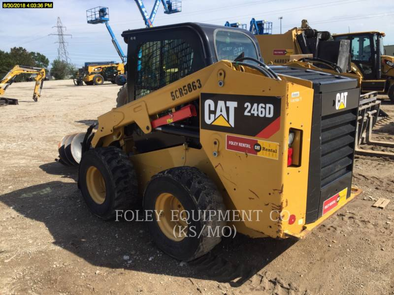 CATERPILLAR CHARGEURS COMPACTS RIGIDES 246DSTD1CA equipment  photo 4