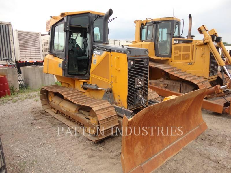 JOHN DEERE TRACTORES DE CADENAS 550K XLT equipment  photo 1