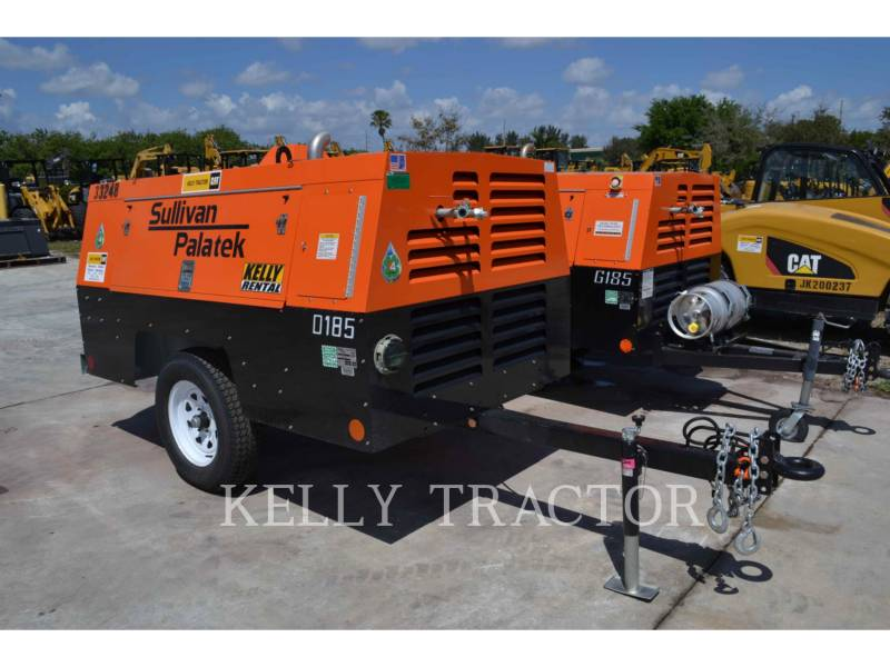 SULLIVAN AIR COMPRESSOR (OBS) D185P DZ equipment  photo 1