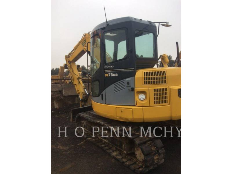 KOMATSU MINING SHOVEL / EXCAVATOR PC78MR equipment  photo 6
