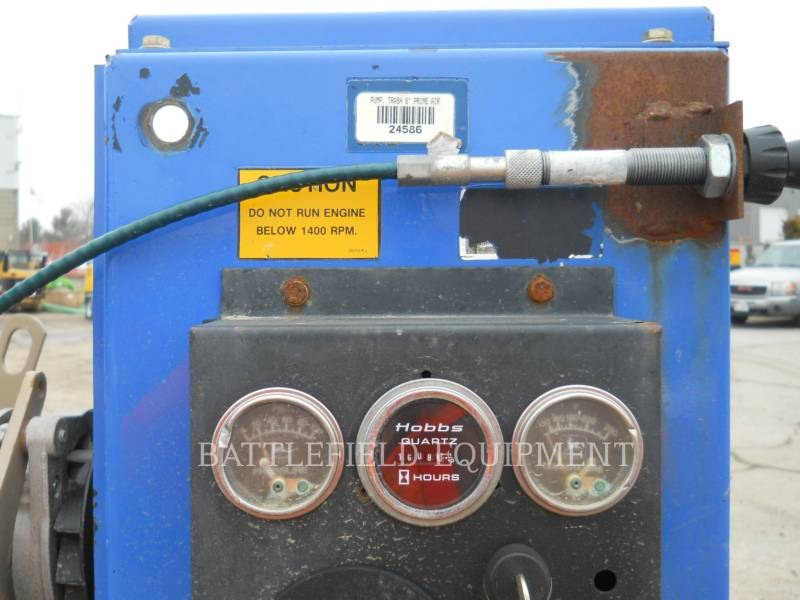 GORMAN RUPP WATER PUMPS / TRASH PUMPS PA6A60-4045D equipment  photo 9