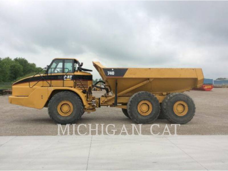 CATERPILLAR ARTICULATED TRUCKS 740 equipment  photo 17