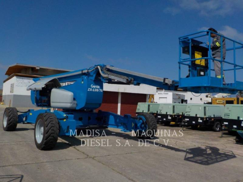 GENIE INDUSTRIES LIFT - BOOM Z135 equipment  photo 3