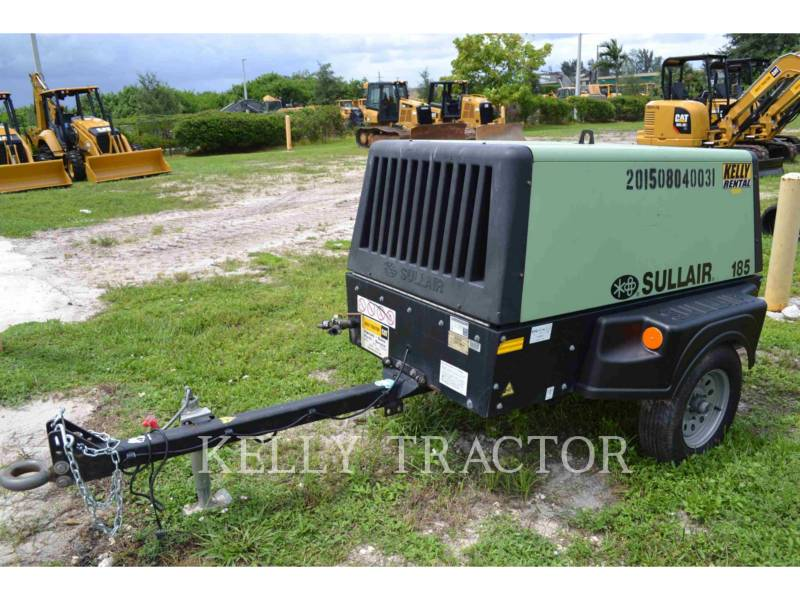 SULLAIR AIR COMPRESSOR (OBS) 185DPQ equipment  photo 3