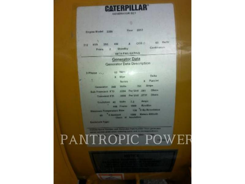 CATERPILLAR STATIONARY GENERATOR SETS 3306 equipment  photo 2