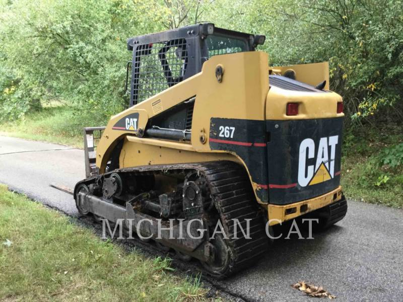 CATERPILLAR MULTI TERRAIN LOADERS 267 equipment  photo 4
