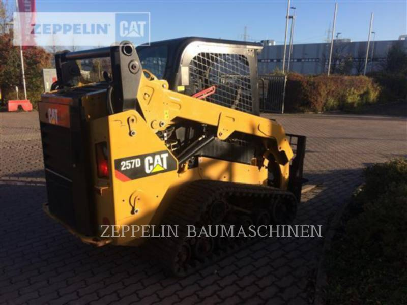 CATERPILLAR MULTITERREINLADERS 257D equipment  photo 3